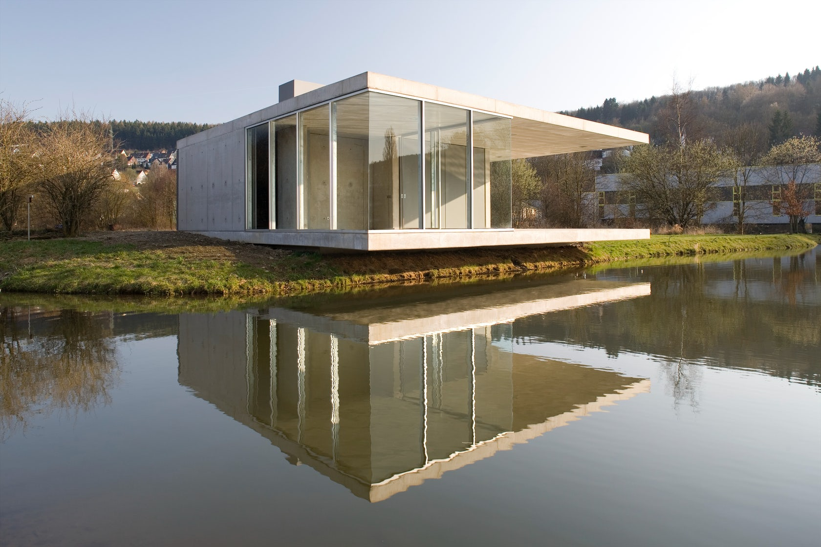 Pavilion siegen architizer - Skelettbau architektur ...