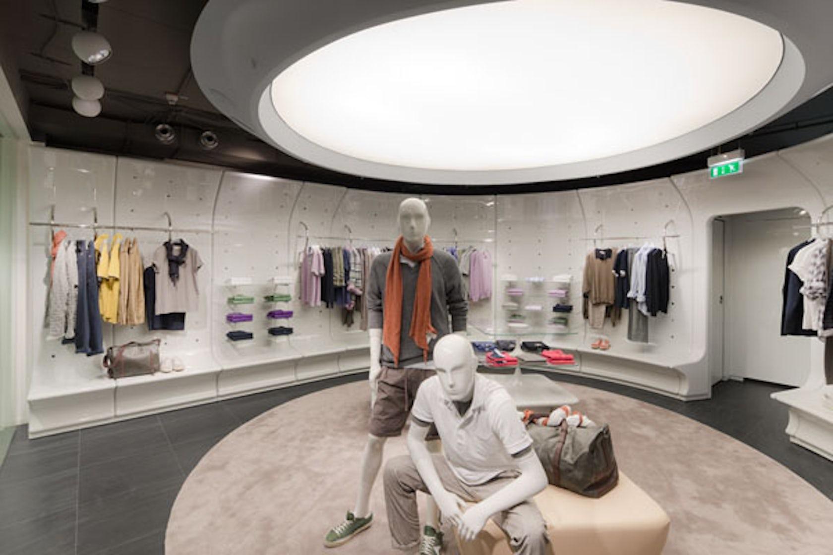 stefanel berlin flagship store architizer. Black Bedroom Furniture Sets. Home Design Ideas