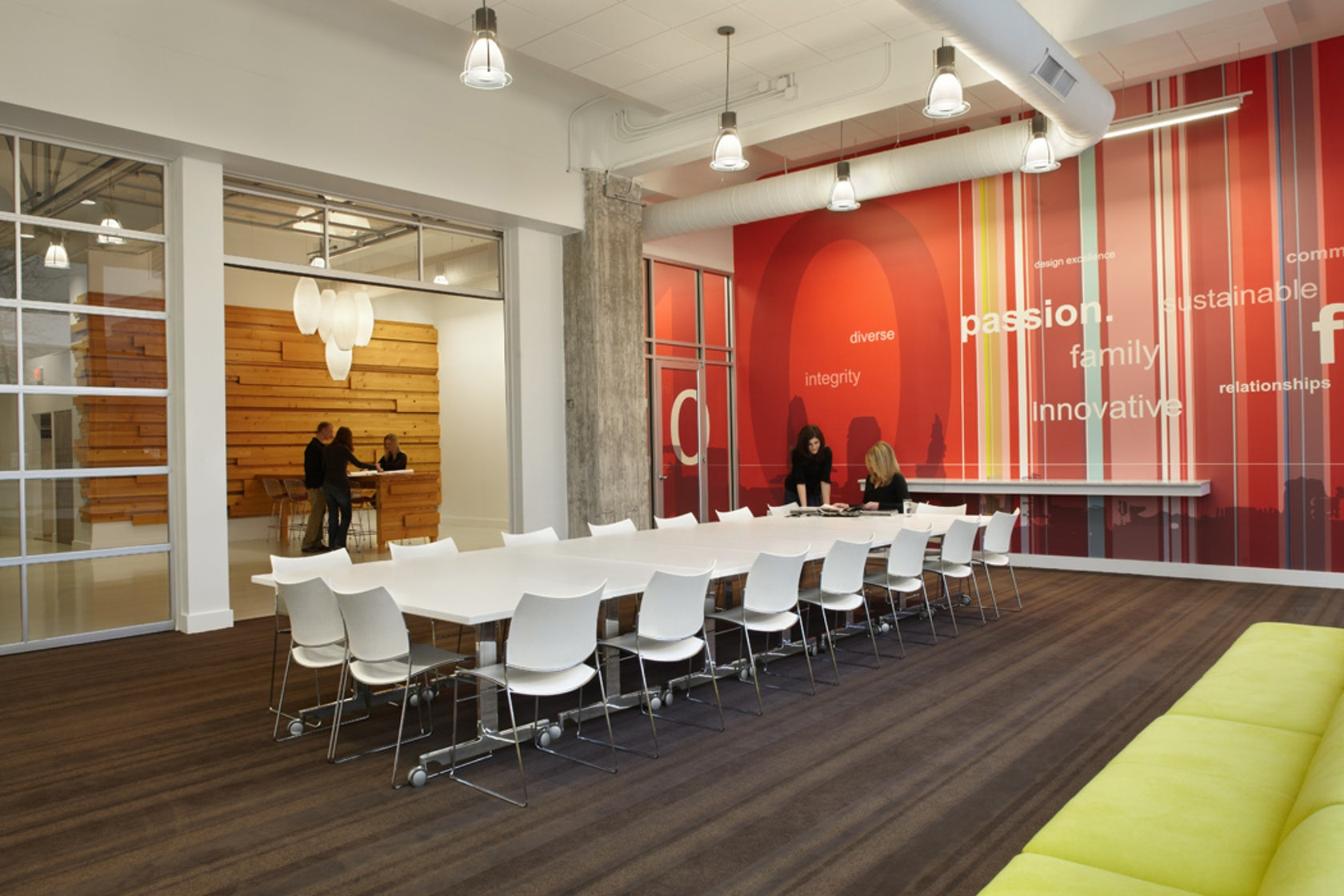 Vocon cleveland hq architizer for Commercial interior design cleveland