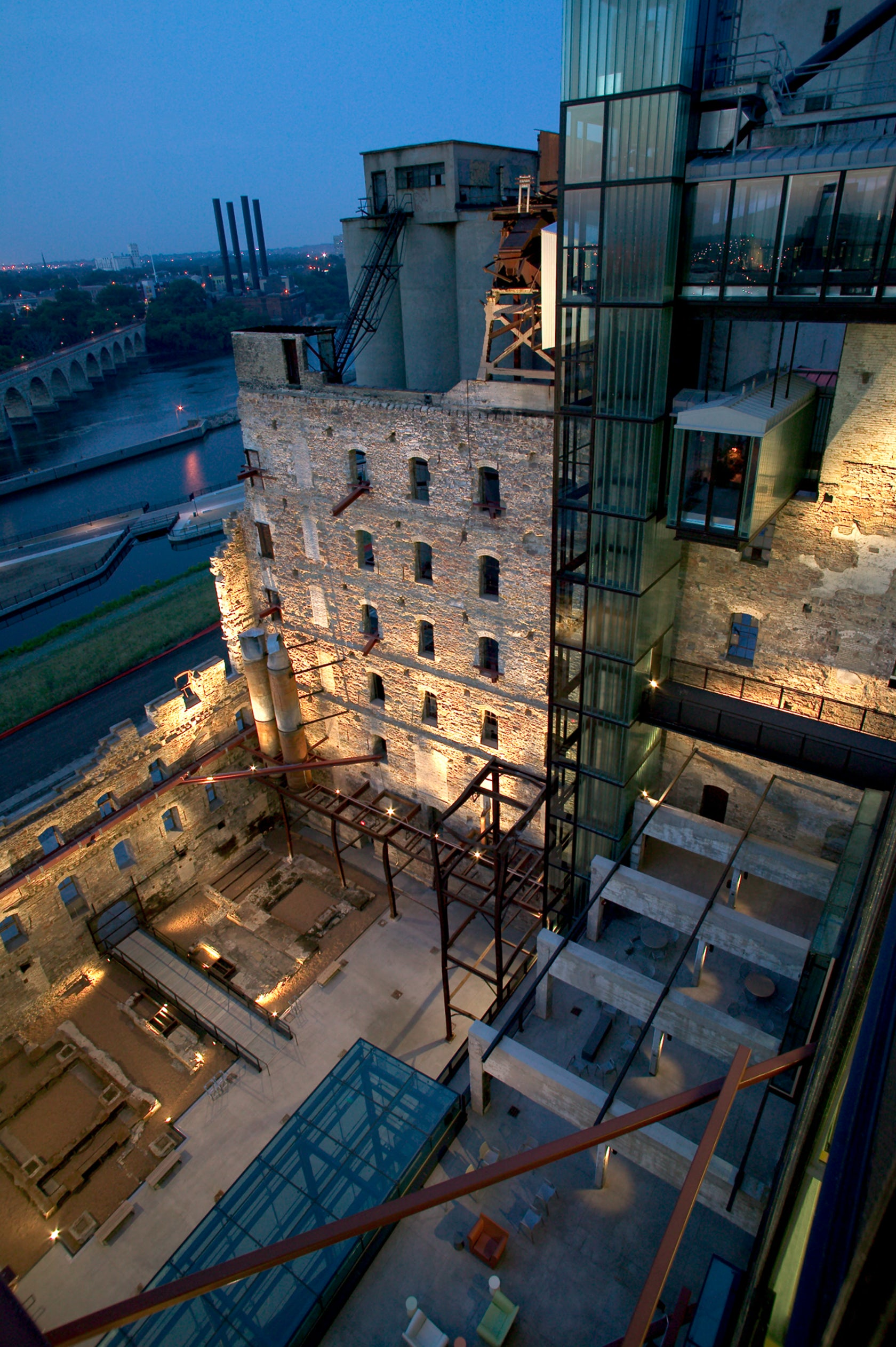 Mill City Museum Architizer