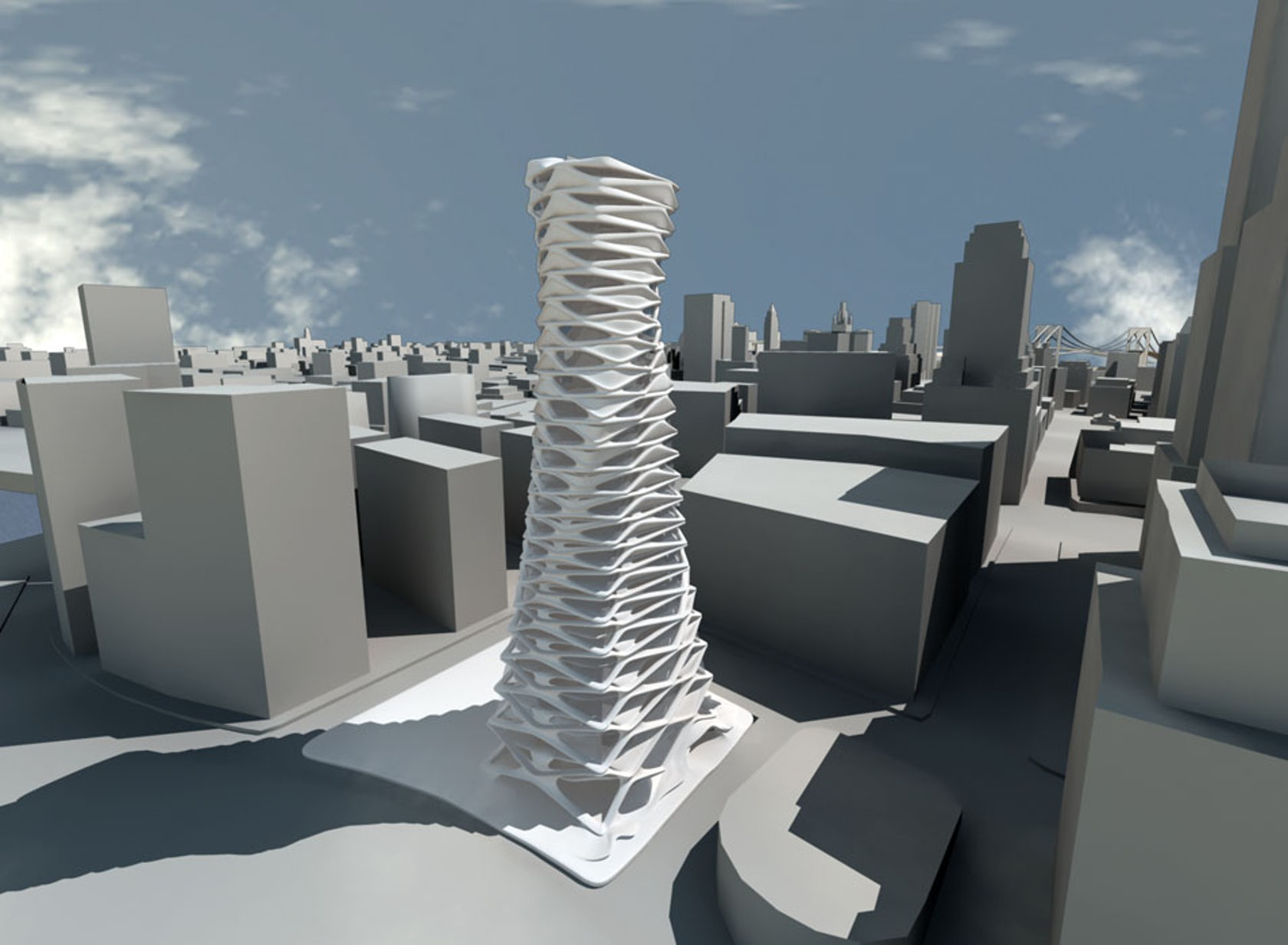 Elegant Transformation New York High Rise Architizer