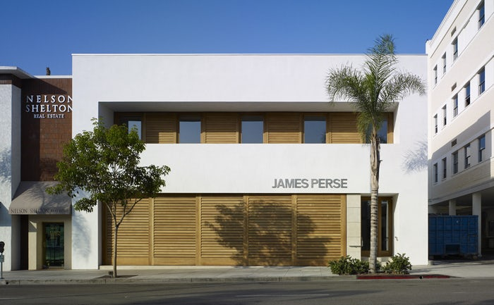James Perse Flagship Store Beverly Hills Architizer