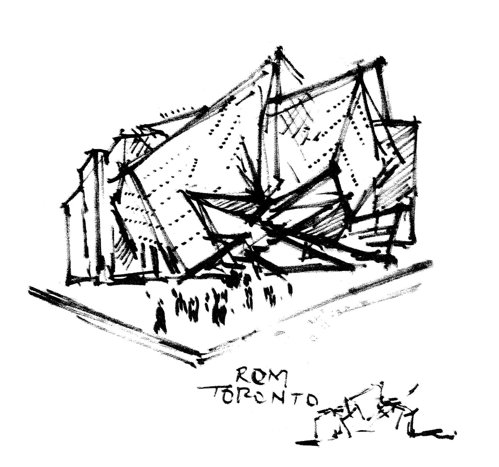 Royal ontario museum architizer for Denver art museum concept