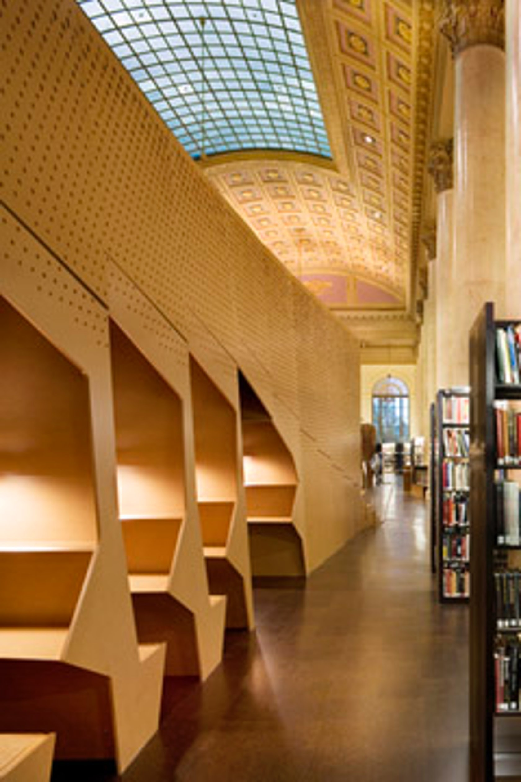 Rhode island school of design library architizer for Rhode island interior designers