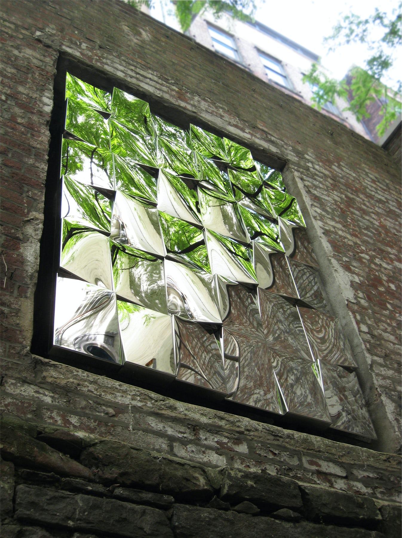 Reflective Tiled Sculpture Architizer