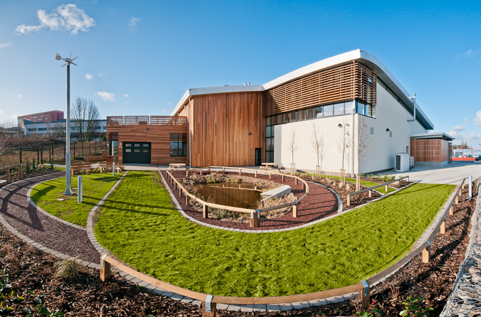 Think Low Carbon Centre, Barnsley College - Architizer