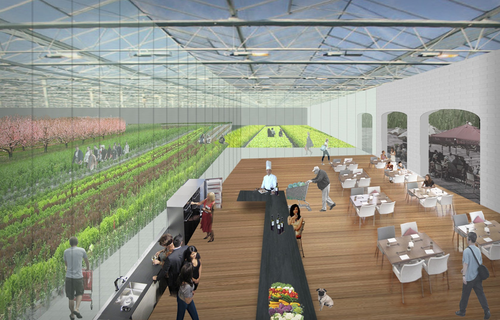 Big Box Agriculture Architizer