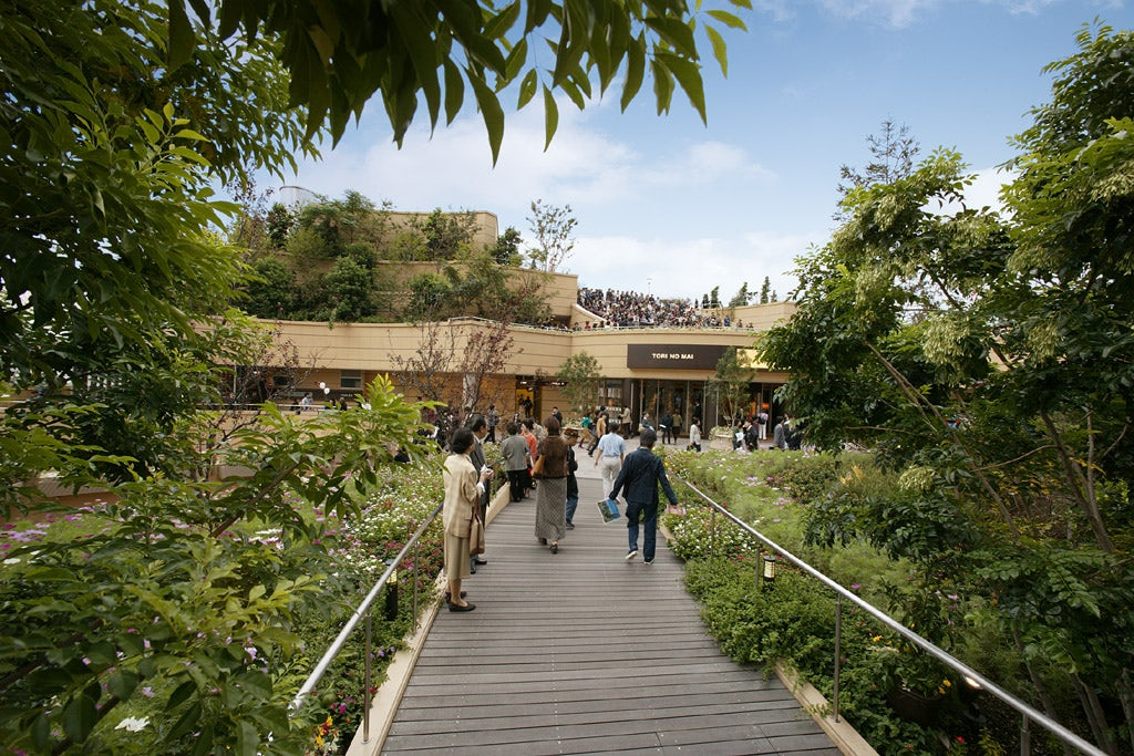 Namba Parks Architizer