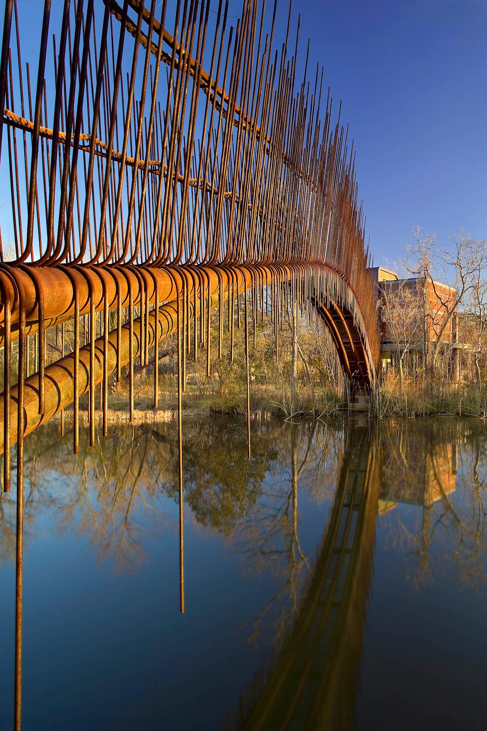 Pedestrian Bridge In Austin Architizer