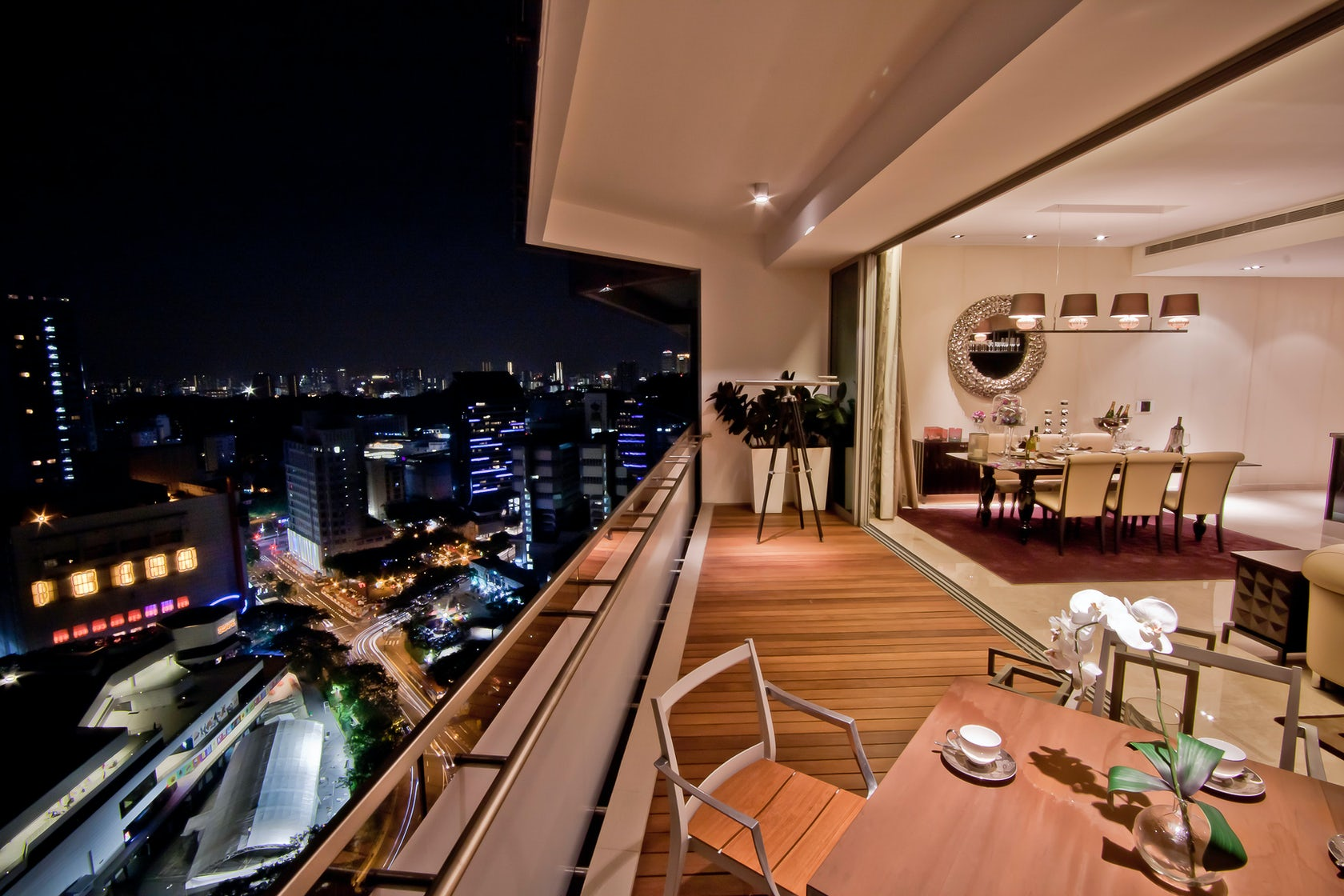 Ong ong pte ltd architizer - Appartement grange infinite showflat singapour ...