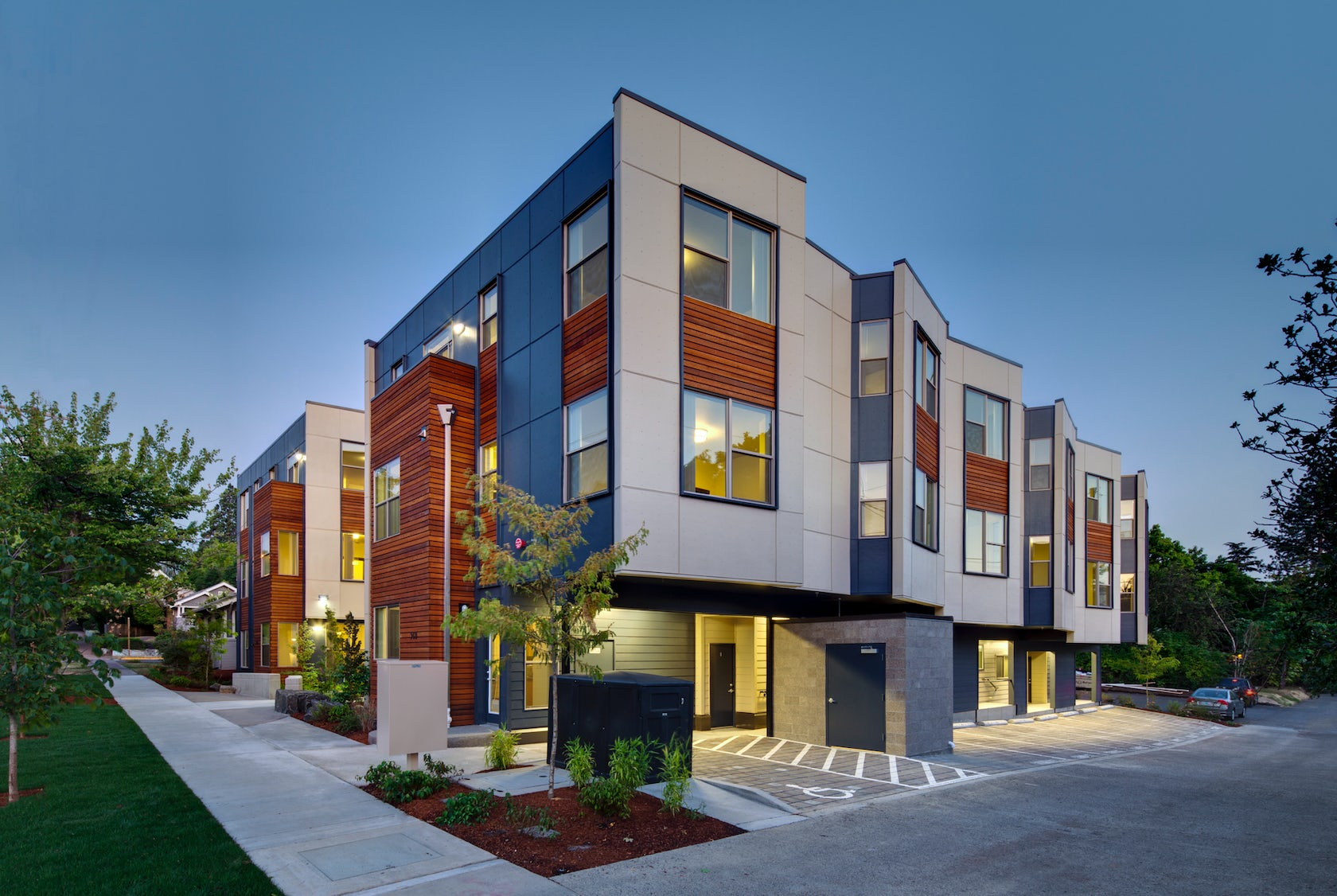 Solstice student housing architizer for Residential architects eugene oregon