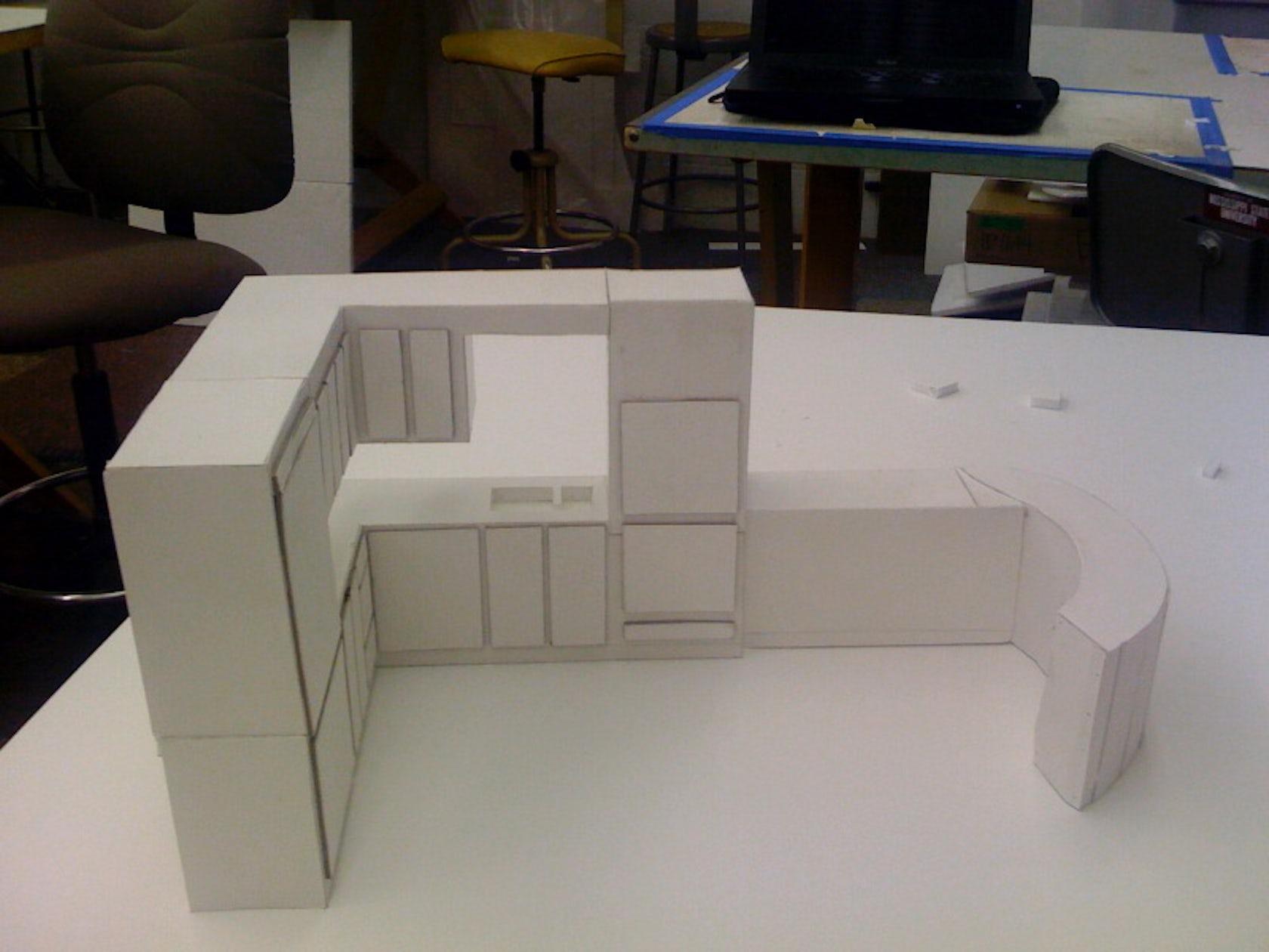 Foam Board Mini Houses : Quot freedom with foam board single family home architizer