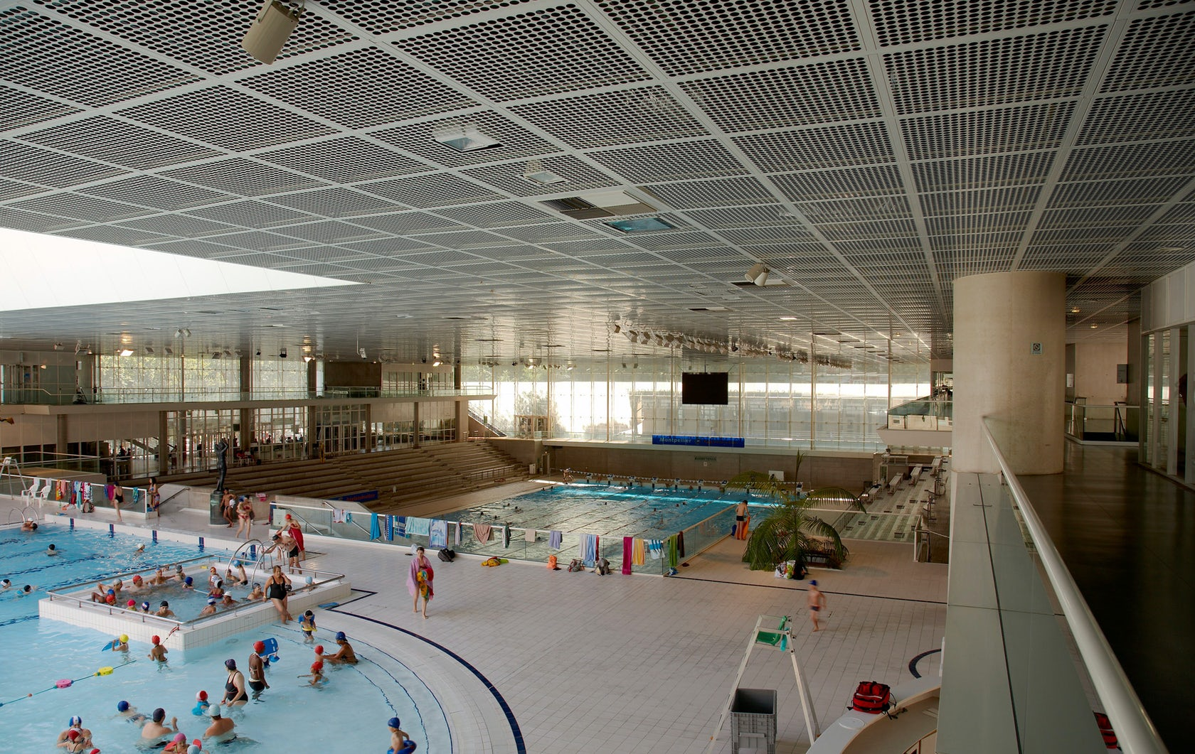 Montpellier Olympic Swimming Pool Architizer