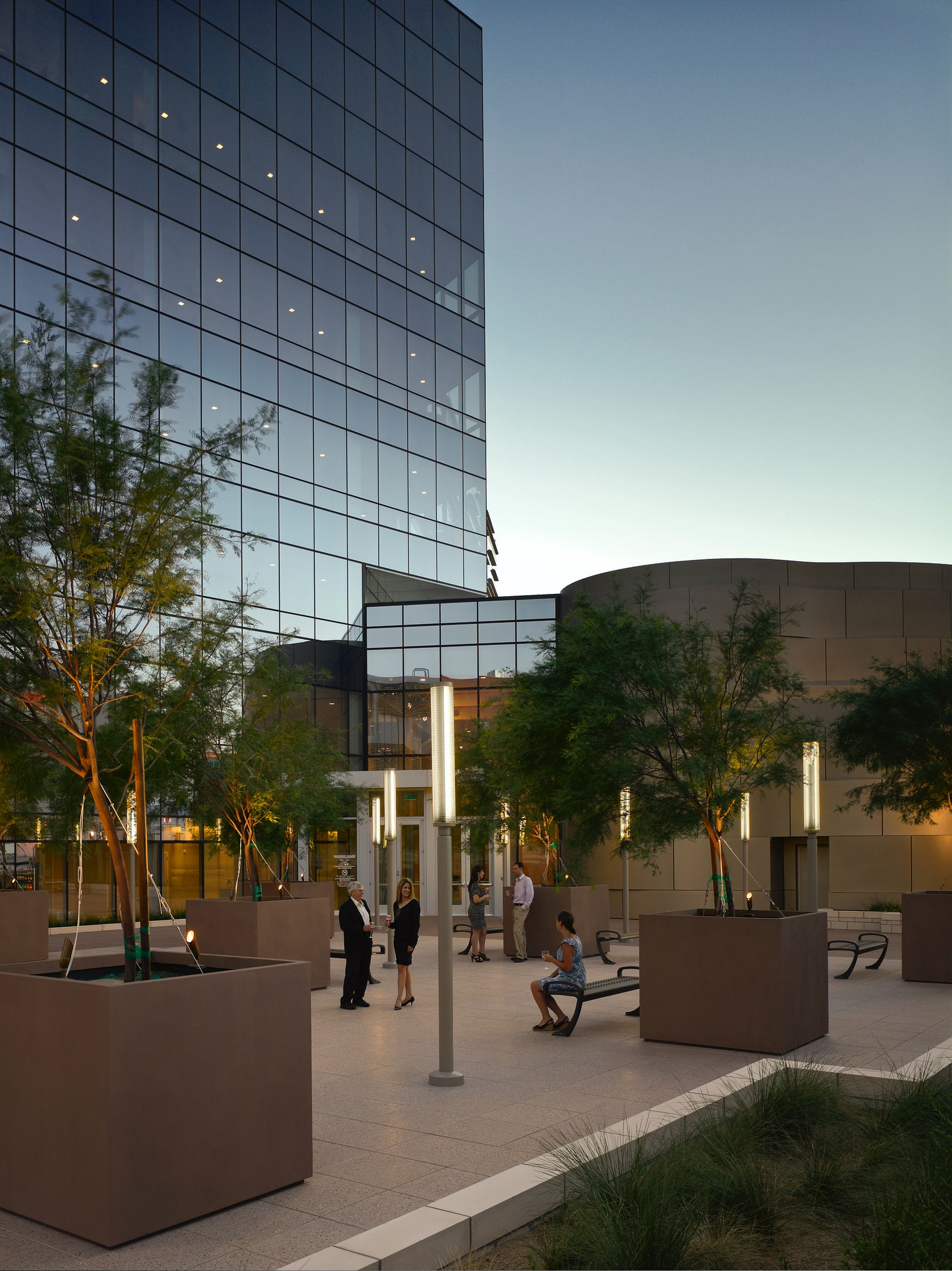 Las Vegas City Hall Architizer