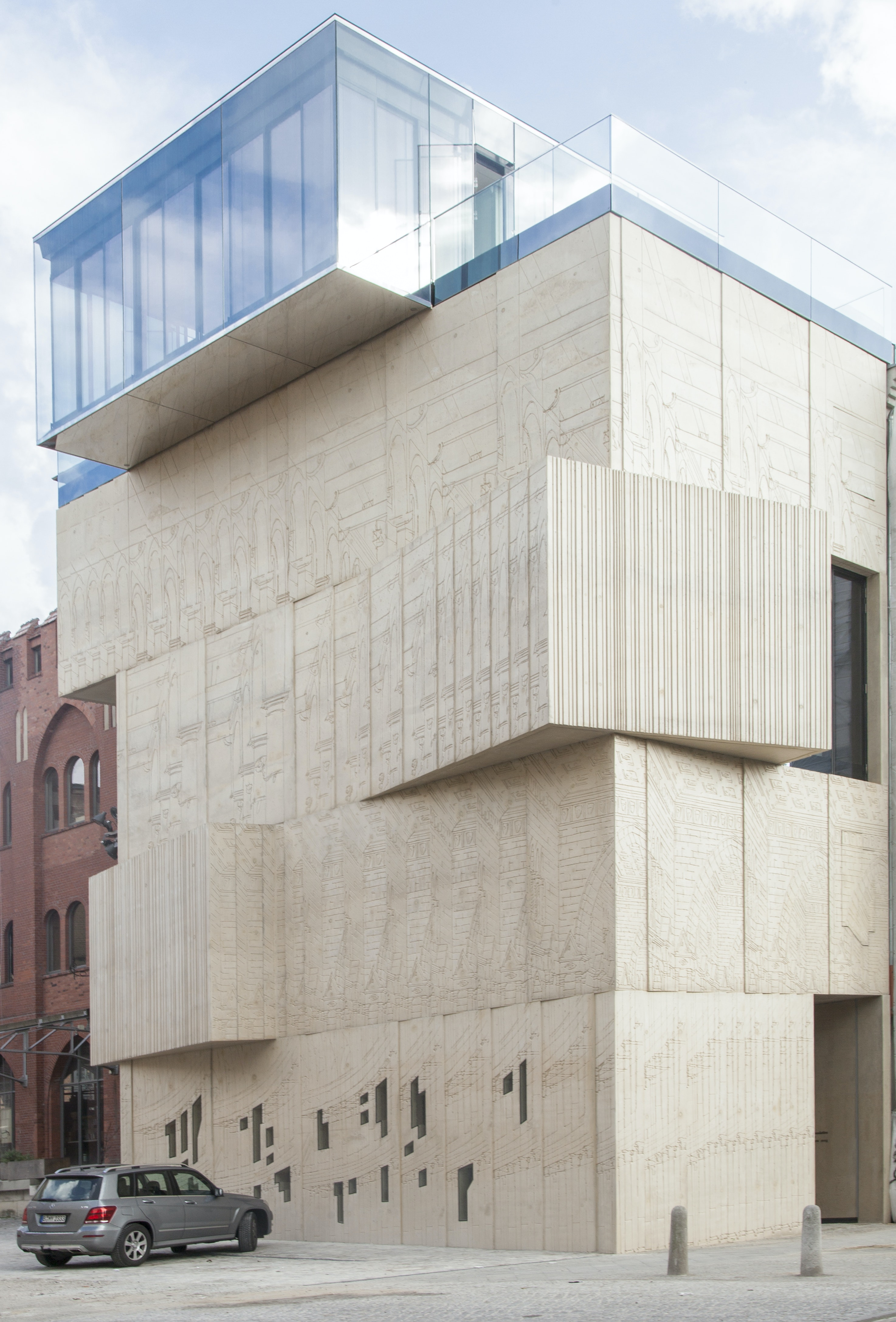 Architecture Drawing Museum Berlin