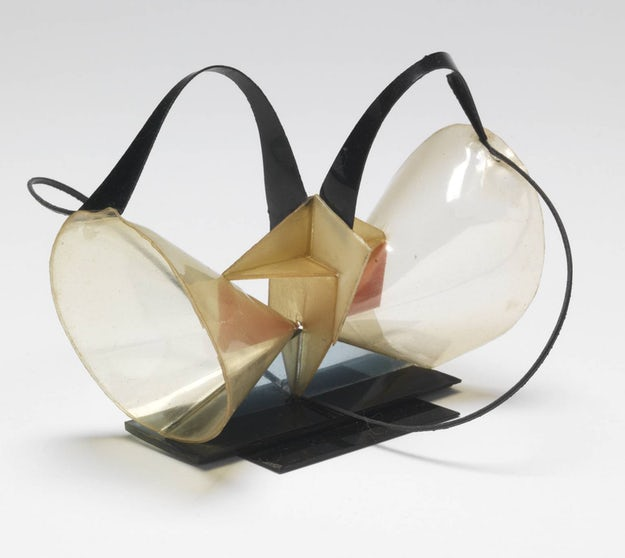 Naum Gabo, Construction in Space: Two Cones