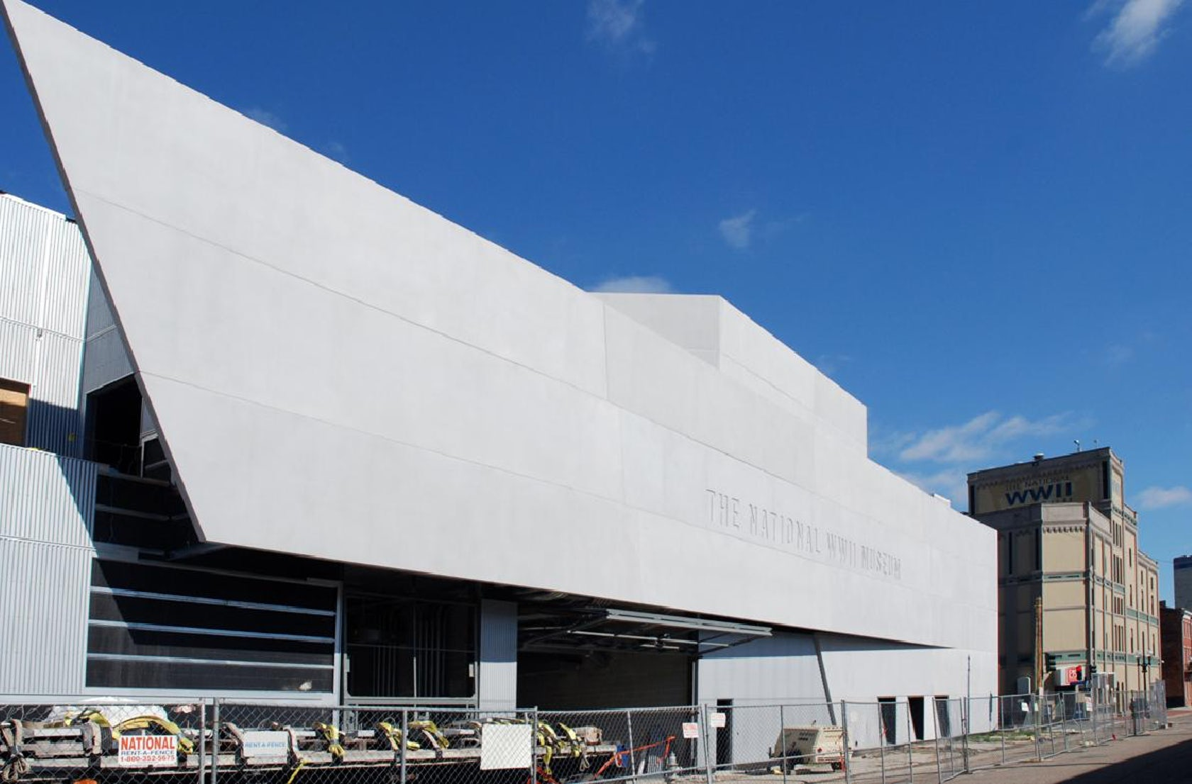 National City Auto Center >> National World War II Museum - Architizer