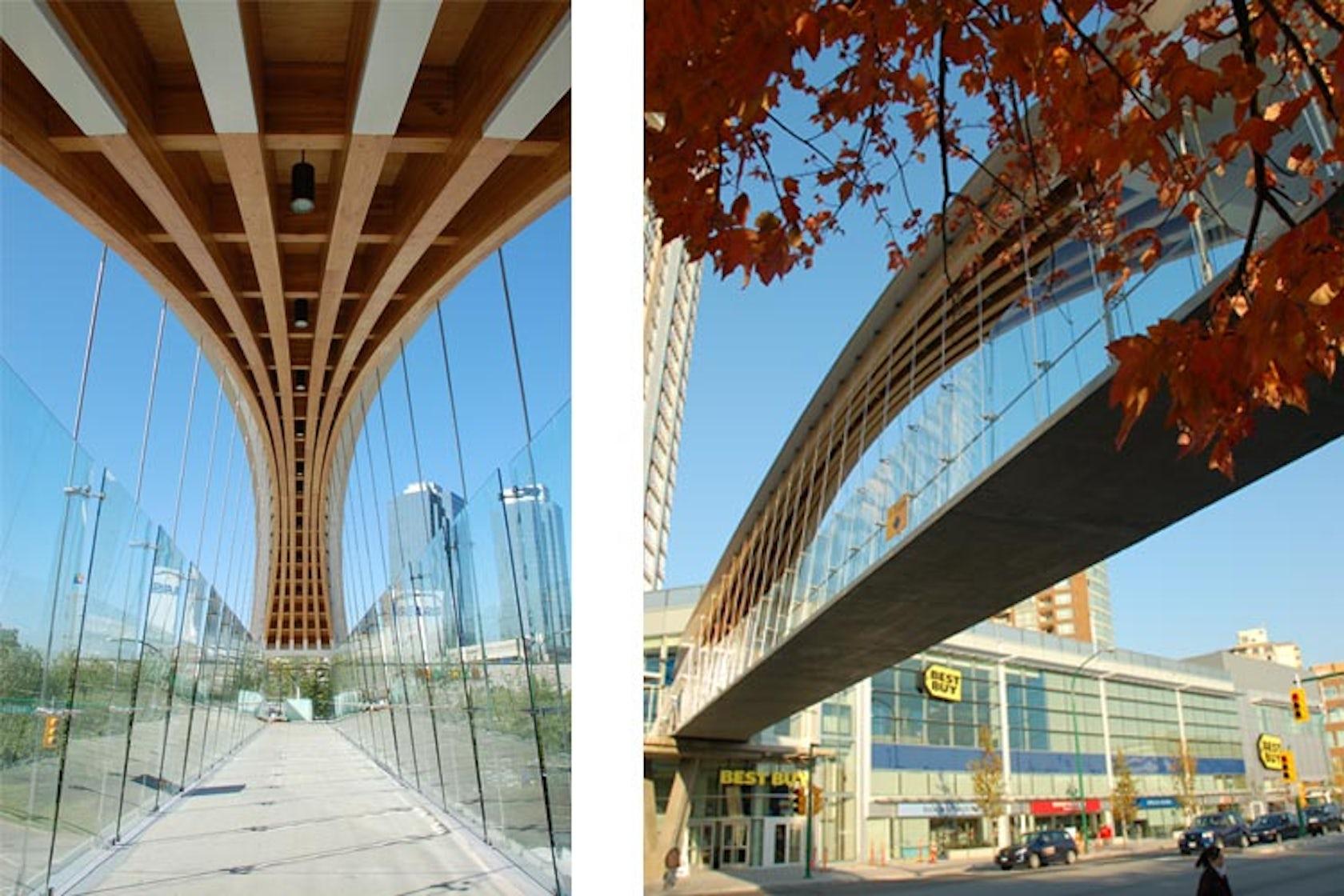 Kingsway Pedestrian Bridge Architizer