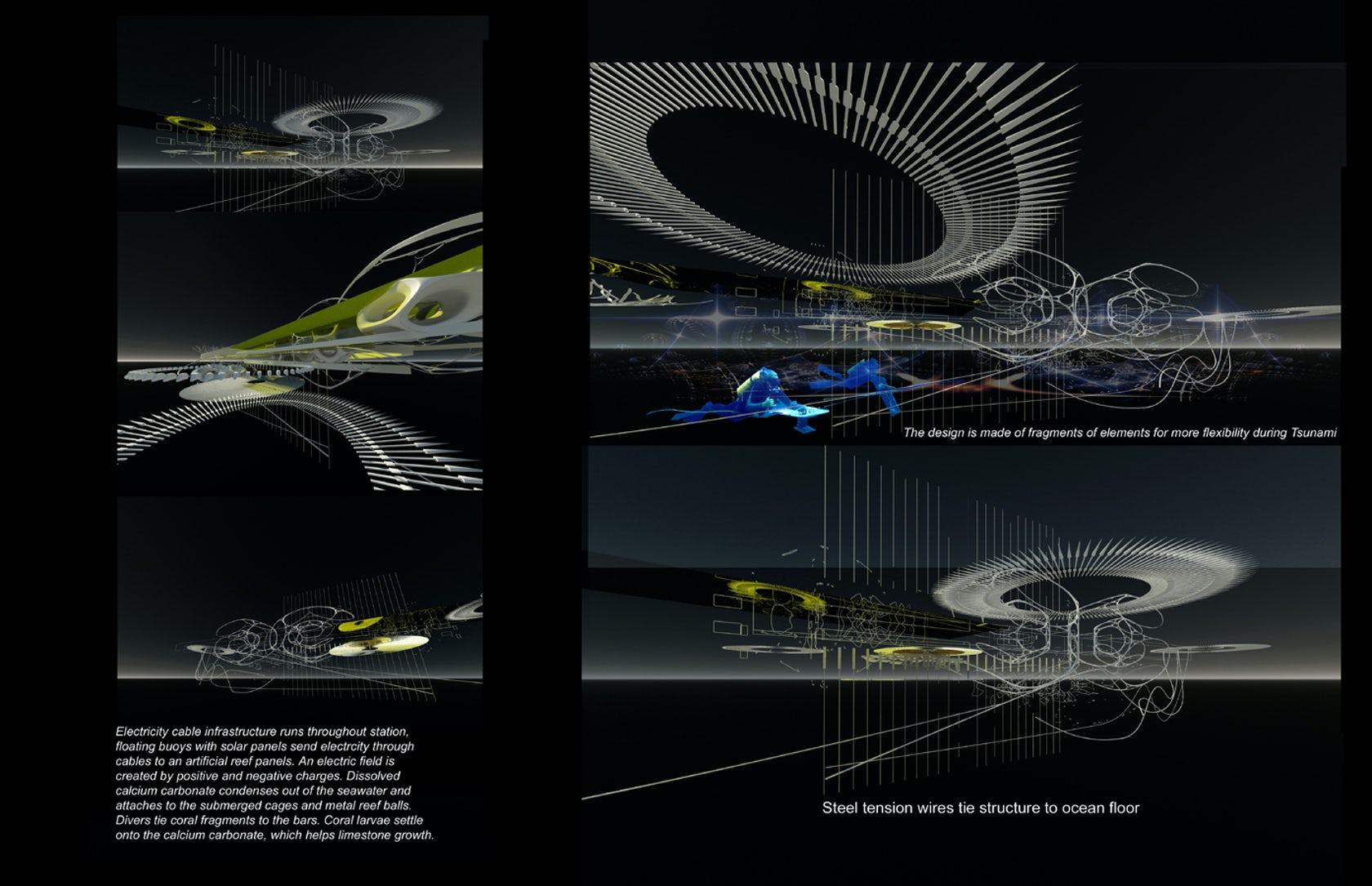 Electric Coral Reef Station Architizer