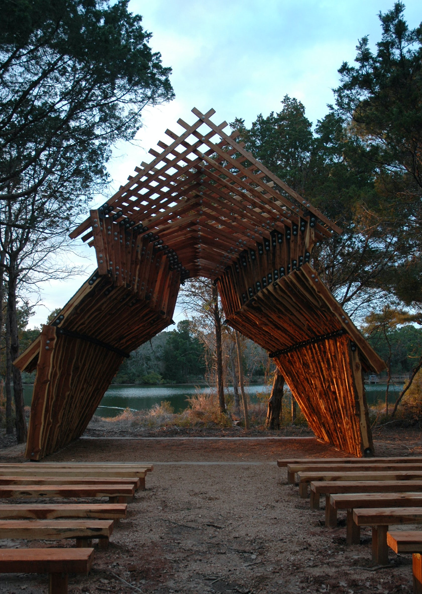 Lakeside Auto Sales >> Lost Pines Chapel - Architizer