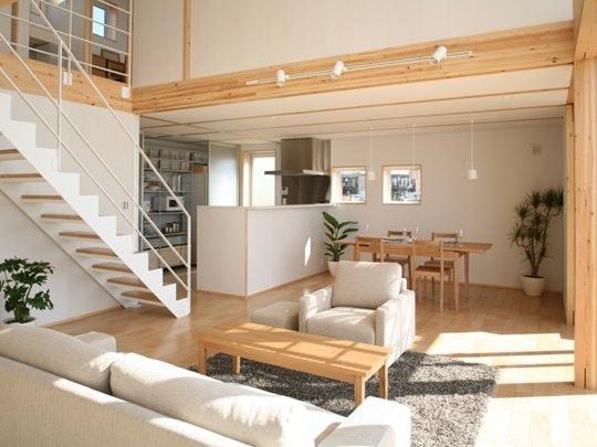 Furniture House By Shigeru Ban For Muji. Image Via.