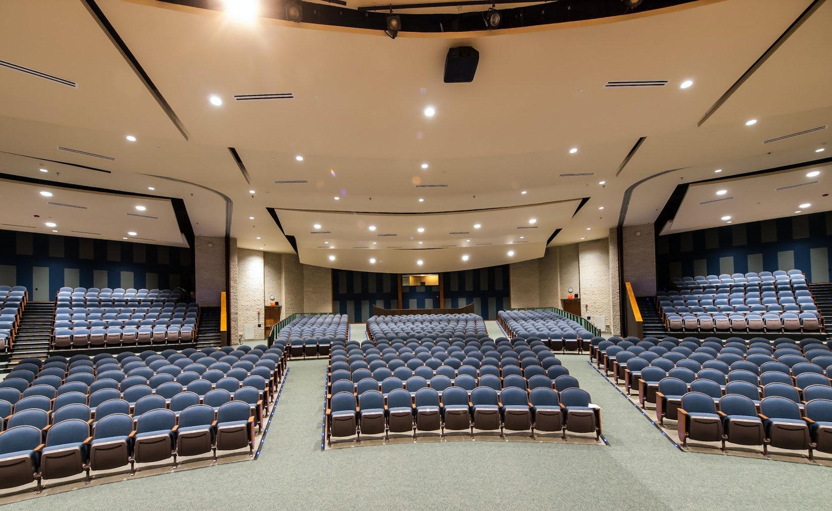 Randolph High School Auditorium Architizer