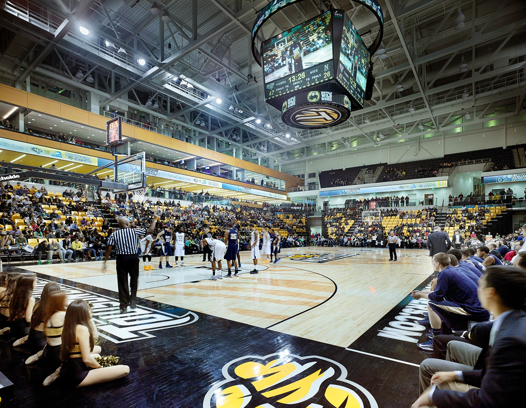 Towson University Secu Arena Architizer