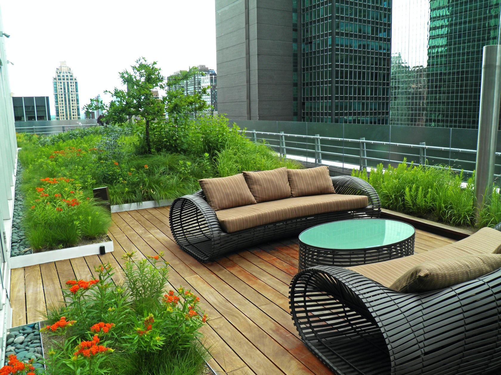 Midtown Manhattan Sky Garden Architizer
