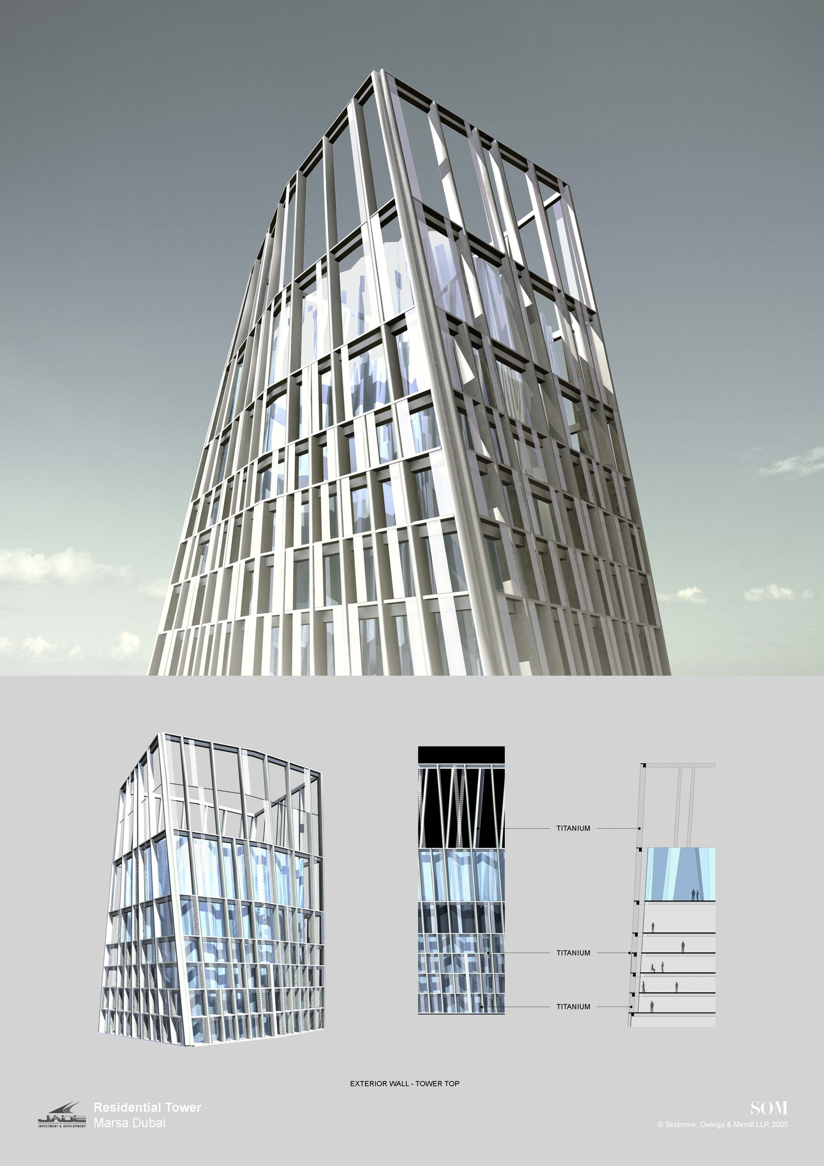 Cayan Tower By Skidmore Owings Merrill Som Architizer