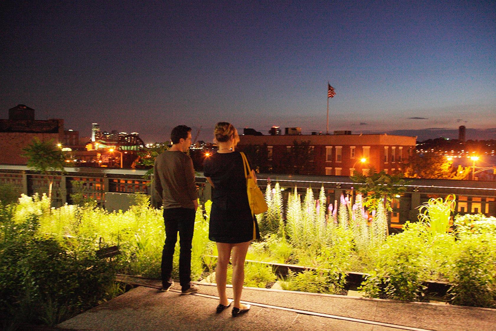 High Line Lighting On Architizer