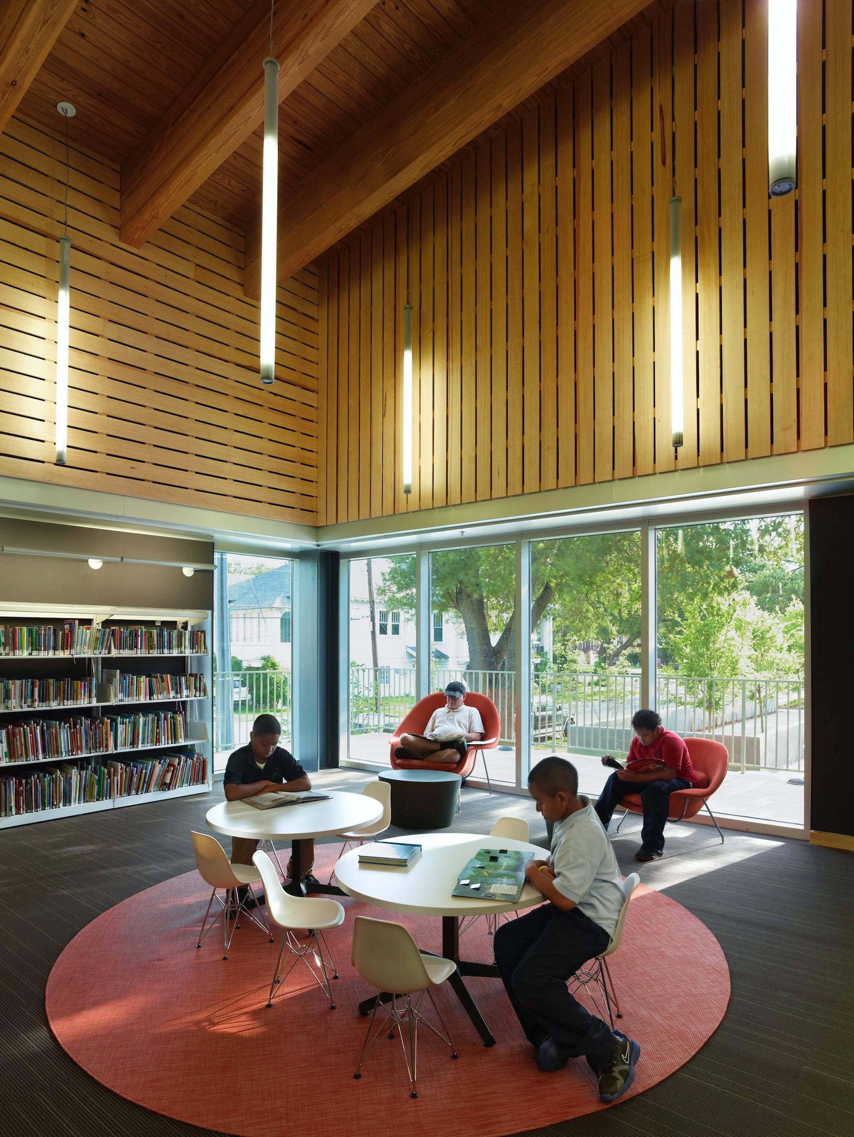 St Paul Park Auto >> Rosa F. Keller Library & Community Center - Architizer