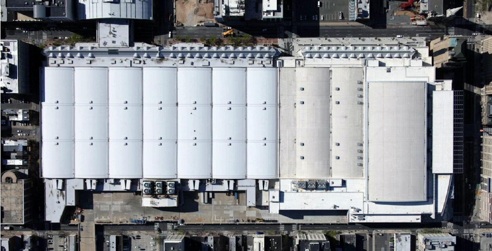 Pennsylvania Convention Center Roof Design Architizer