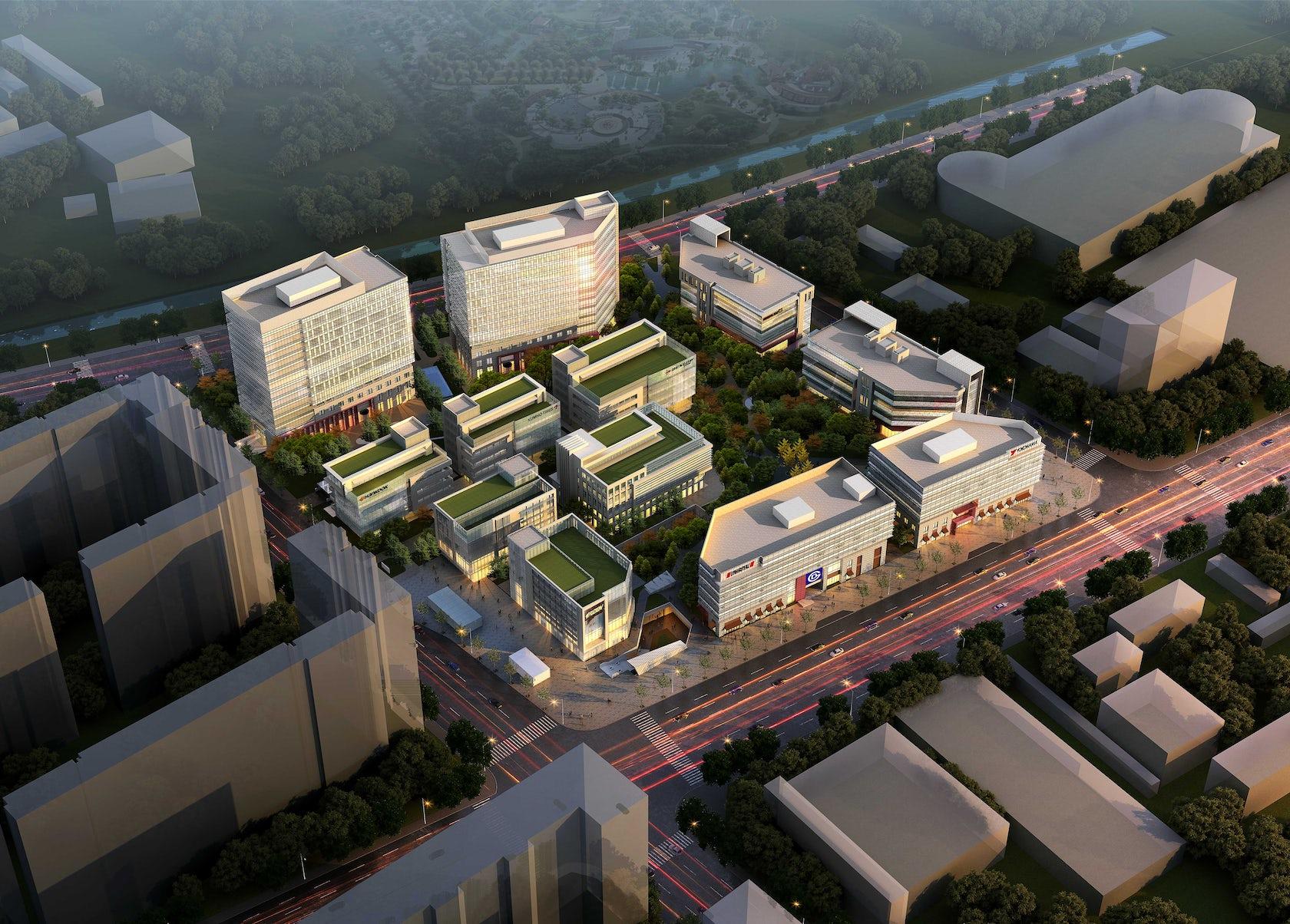 First Team Auto Mall >> Business Park Design - Architizer
