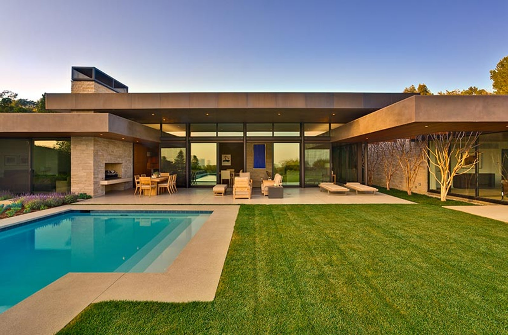 Trousdale Residence by Marmol Radziner - Architizer