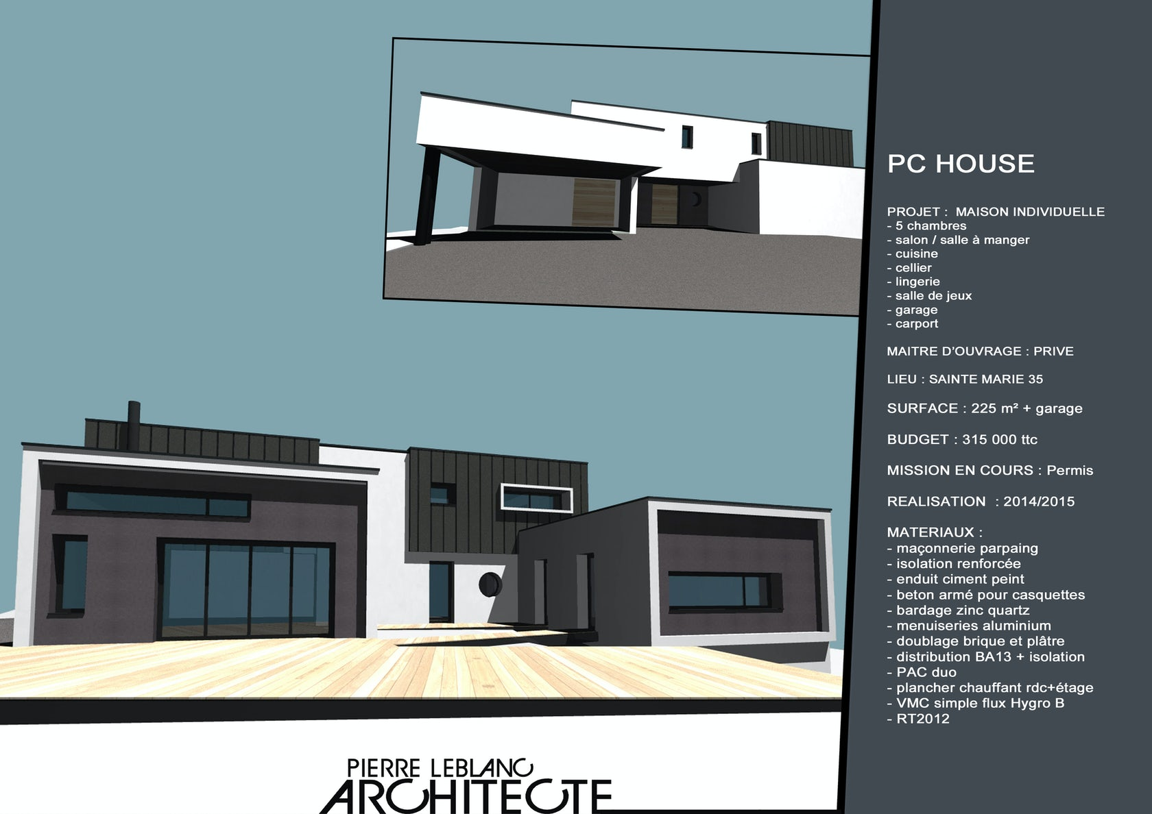 Pierre Leblanc Architecte On Architizer