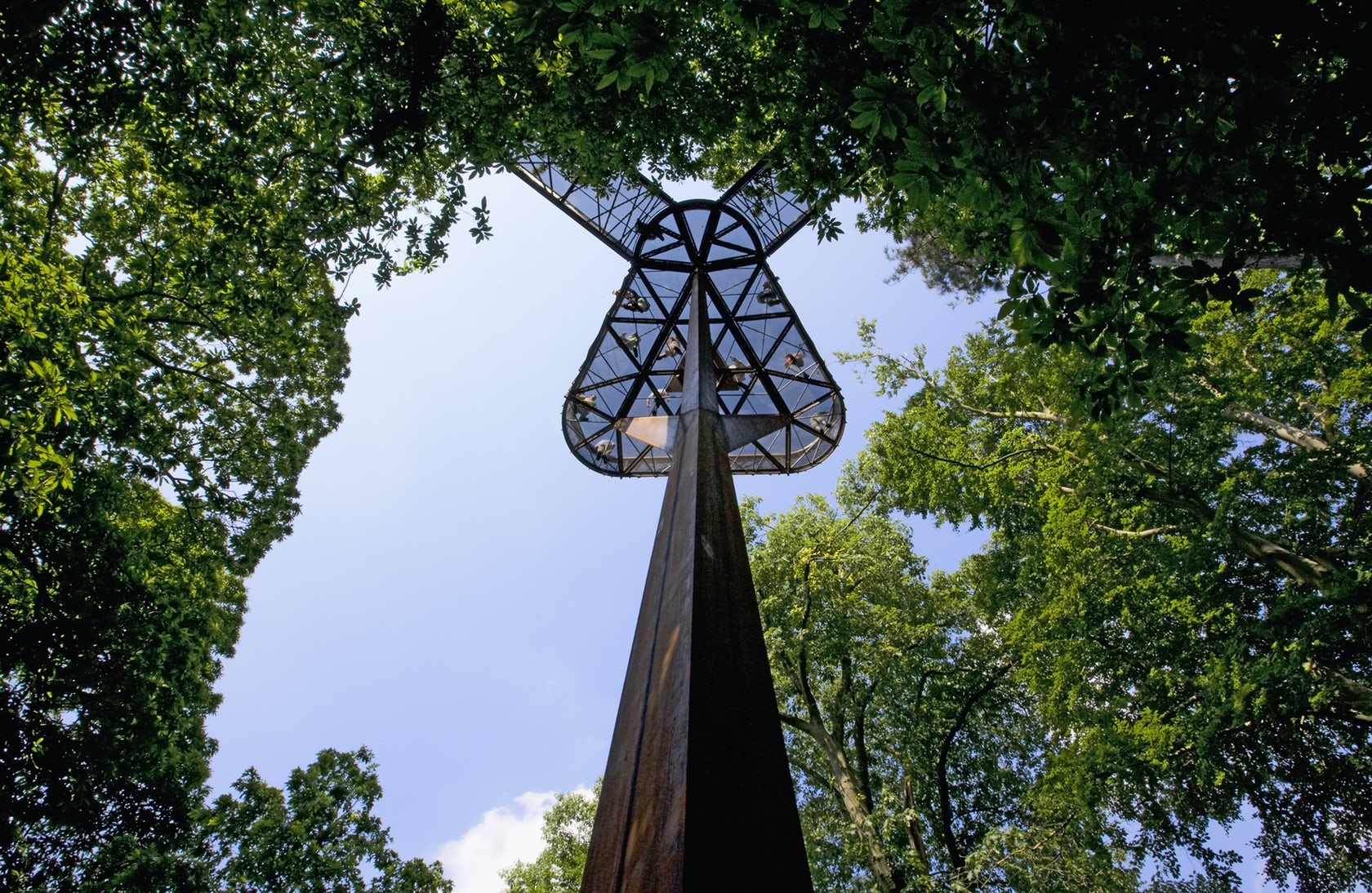 Over The Garden Walk: Kew Gardens Treetop Walkway