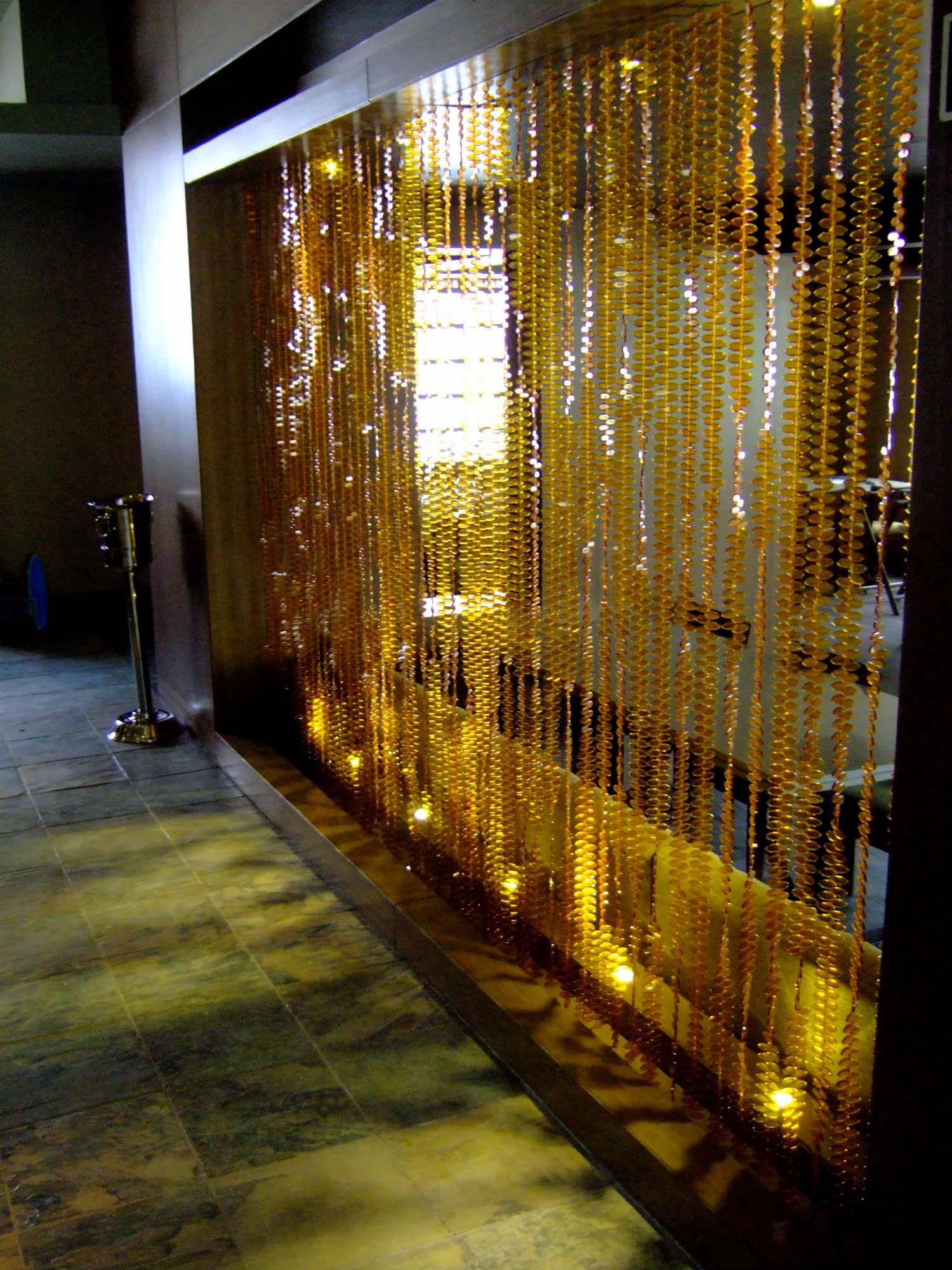 Idea 853933 Topaz Leaf Bead Curtain By Memories Of A