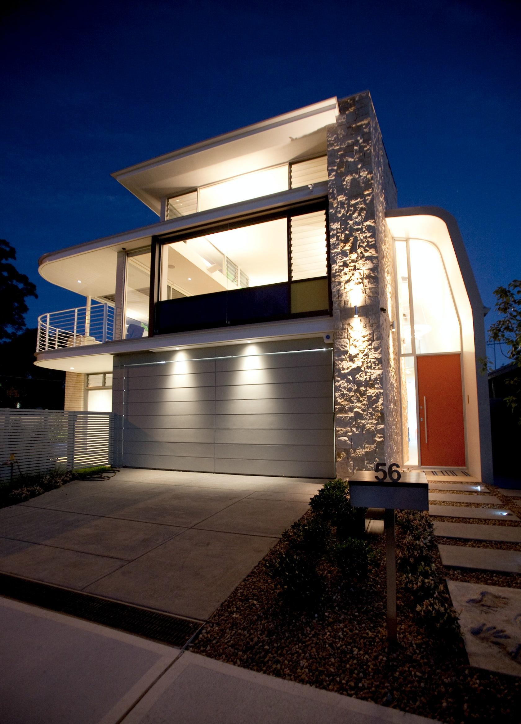 Curve House Architizer