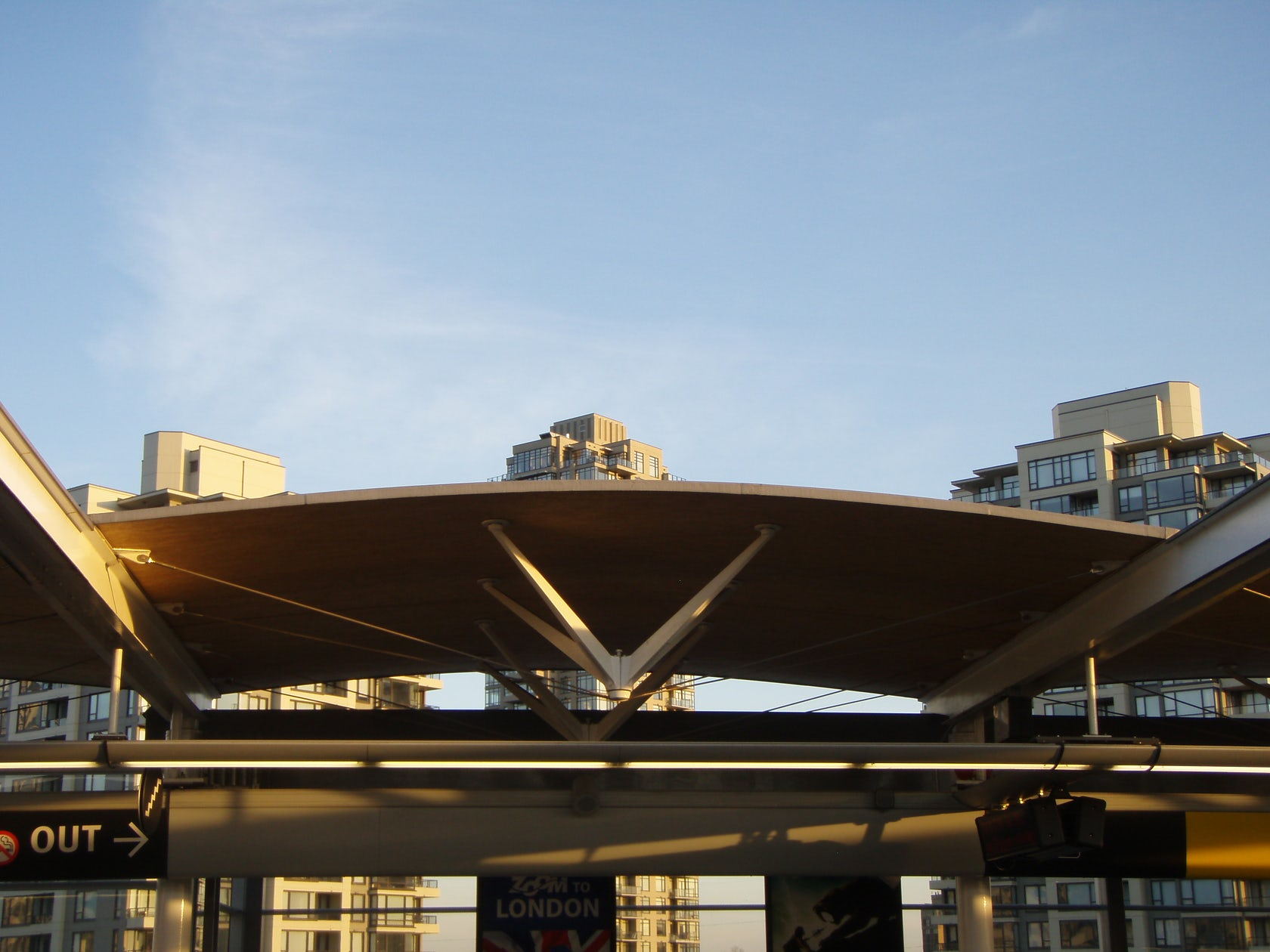 Gilmore Skytrain Station Architizer