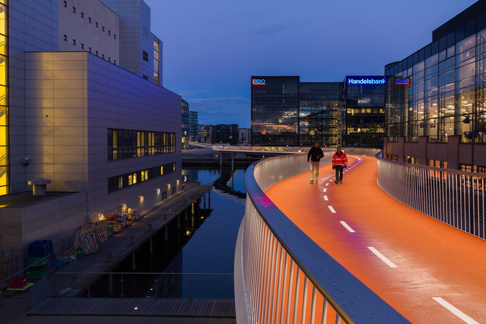 Cykelslangen The Bicycle Snake Architizer