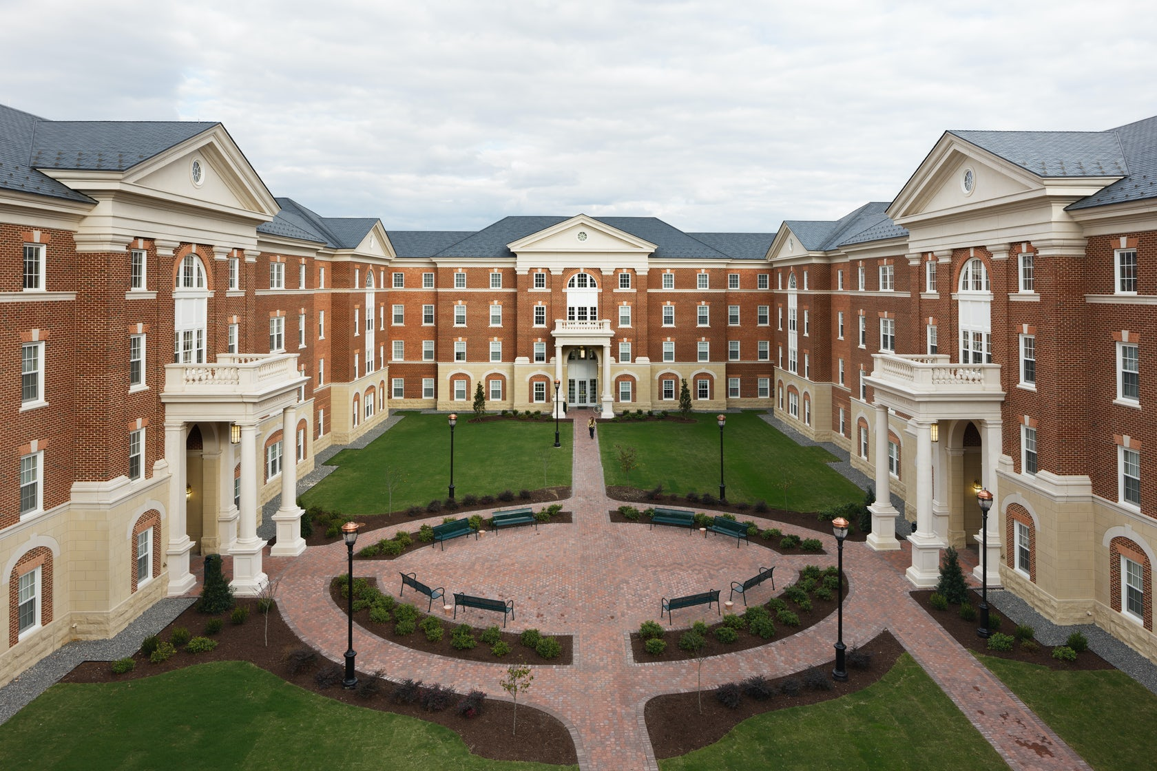 Rappahannock Hall Christopher Newport University By Glave Holmes Architecture Architizer