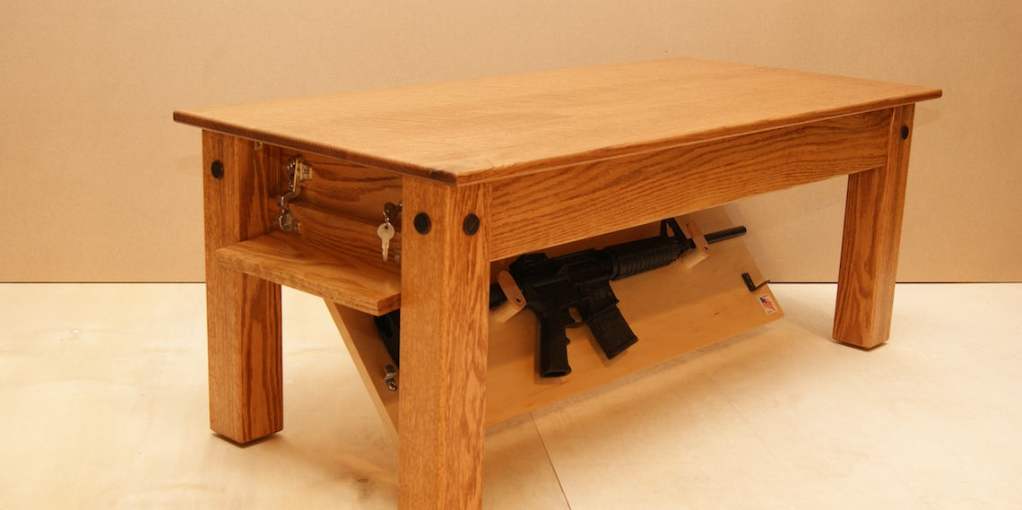 Firearm Concealment Furniture: Now You, Too, Can Pack Heat at Home