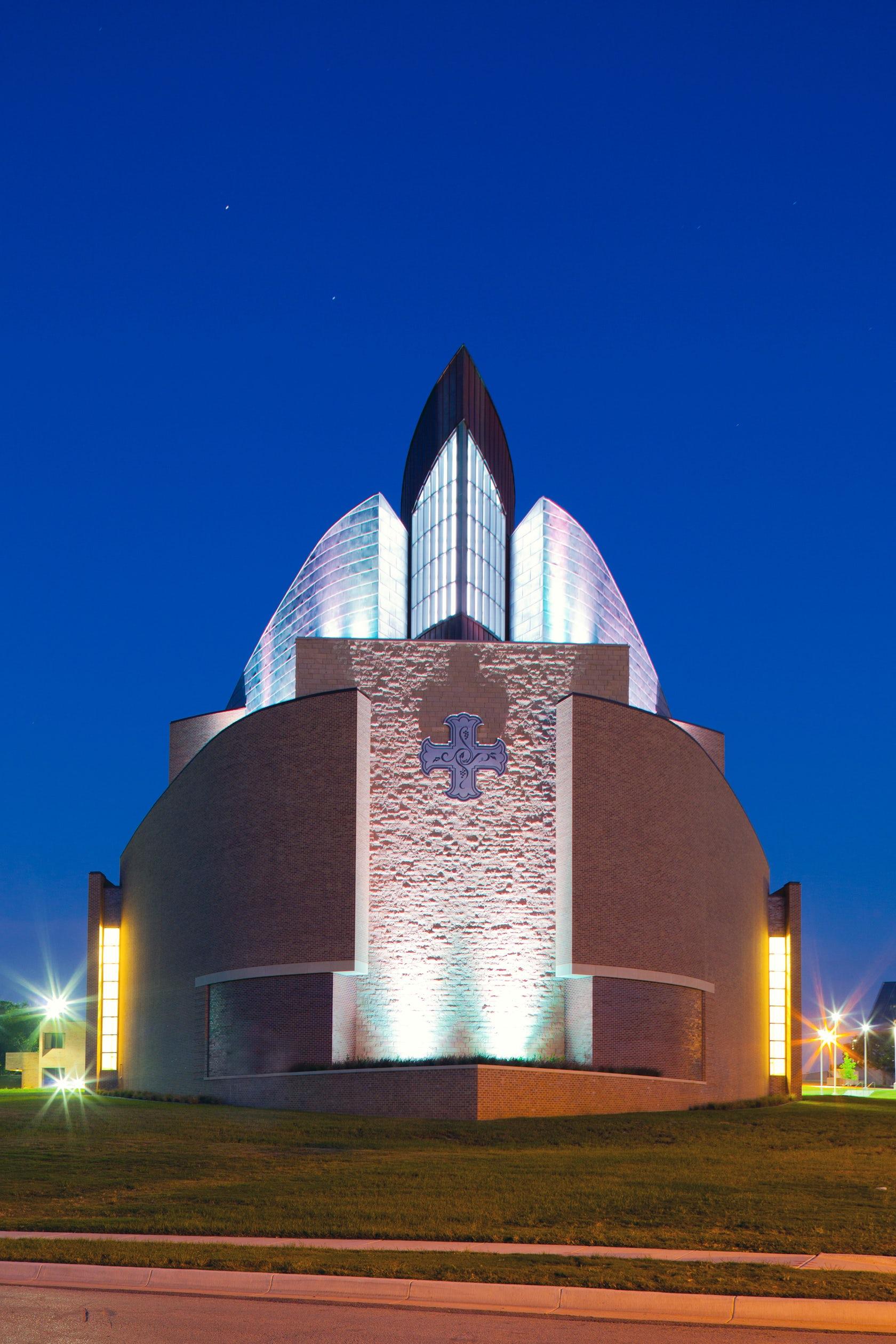 Fort Davis Tx >> Arborlawn United Methodist Church - Architizer