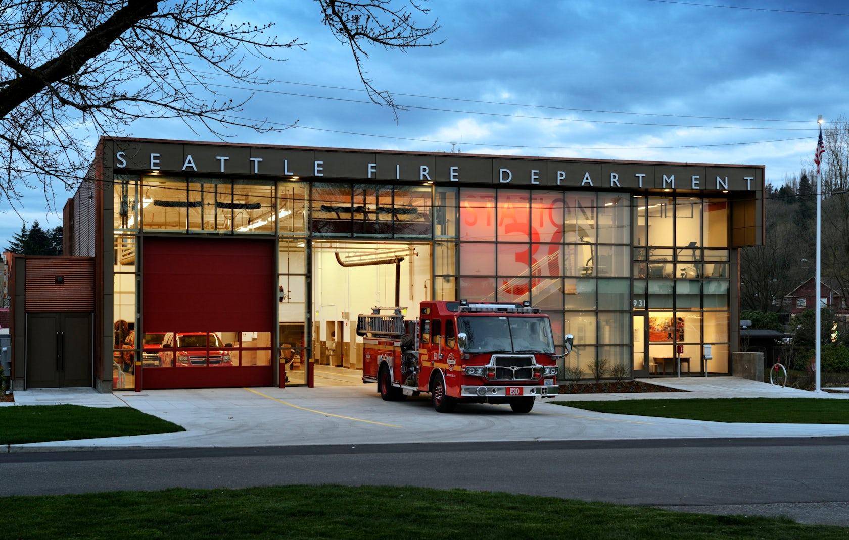 Fire Station 30 Architizer