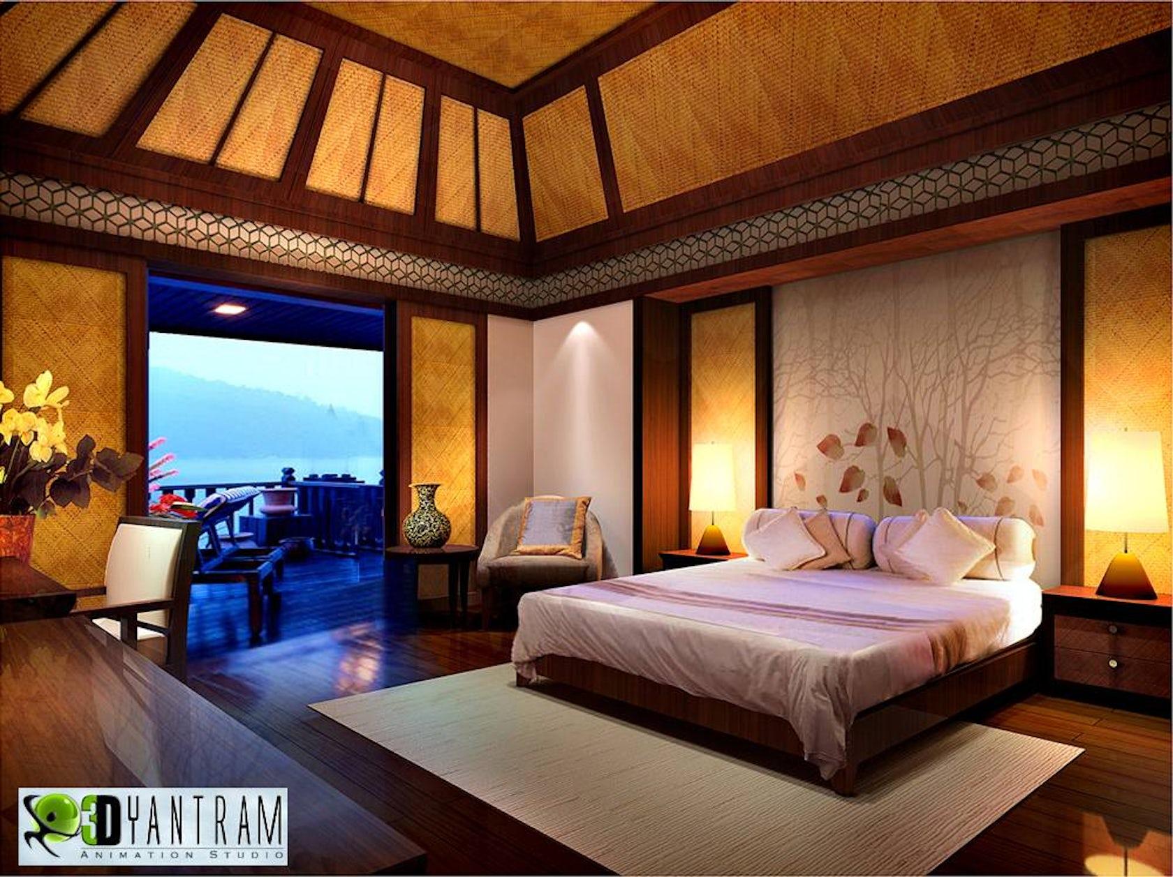 Renders 3d For Master Bedroom Project: Bedroom Interior Design