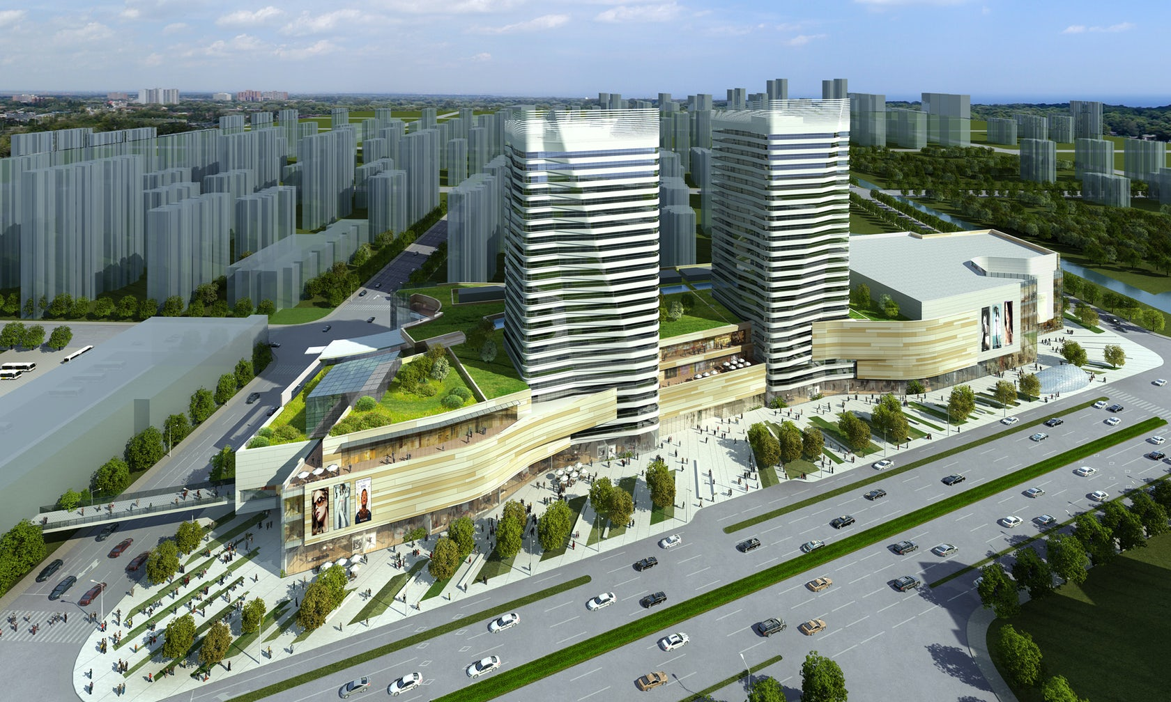 Longfor Baoshan Mixed Use Complex Architizer