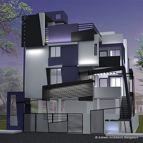 Contemporary House Design In South India