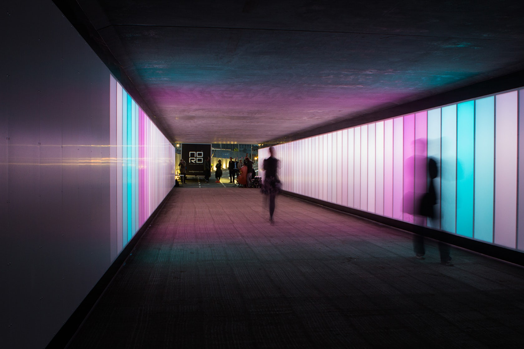 Green Light Auto >> Interference: An Interactive Tunnel - Architizer
