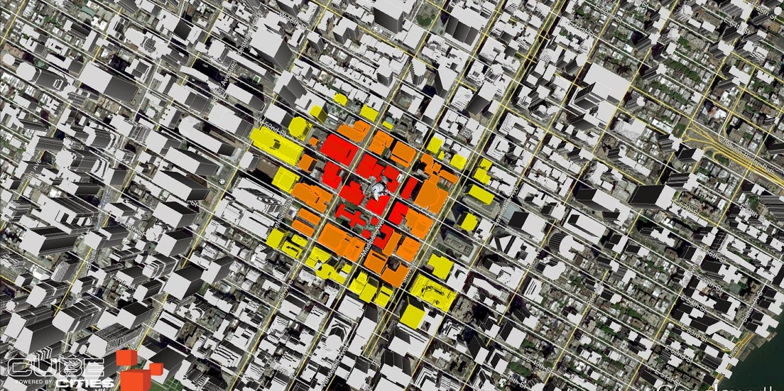 A Visualization Tool Helps Assess Damage During Urban Disasters