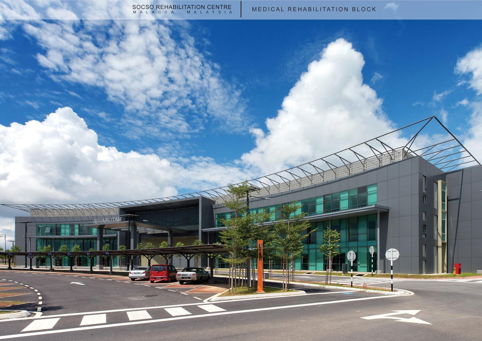Axis Auto Group >> SOCSO Rehabilitation Centre - Architizer